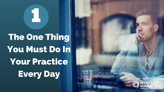The One Thing You Must Do In Your Practice Every Day