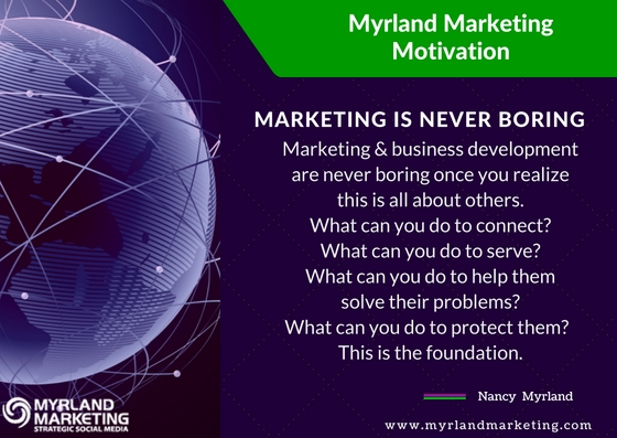Lawyers, Marketing and Business Development Are Never Boring