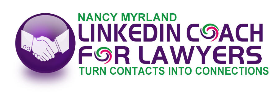 LinkedIn Coach For Lawyers - Nancy Myrland